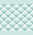soft seamless pattern with waves in light blue vector image vector image