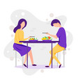 dating cartoon funny of vector image vector image