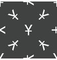 Japanese yen pattern vector image vector image