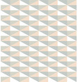 pattern from light color triangles vector image vector image