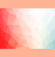 red white blue triangles background vector image