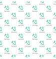stretococcus pneumonidae pattern seamless vector image vector image