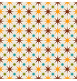 seamless abstract pattern with stars vector image