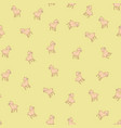 sheeps kids seamless pattern vector image