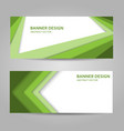 abstract background with green lines vector image vector image