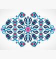arabesque vintage element for design template vector image