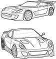 car8 vector image vector image