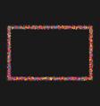 colorful explosion confetti vector image