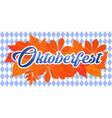 emblem oktoberfest festival 2017 oktoberfest vector image