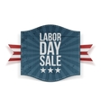 Labor Day Sale greeting paper Banner vector image vector image