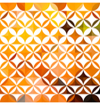orange ethnic floral pattern vector image