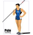 pole a0102 vector image