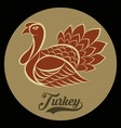 Turkey logo vector image
