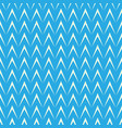 geometric herringbone on blue background vector image