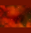 abstract cosmic red galaxy background vector image