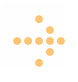 Arrow icon digital sign direction pointer button vector image vector image