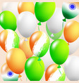 balloon set of shiny colorful vector image