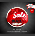 big sale - black friday vector image