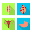 human and health symbol vector image vector image