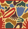 motley seamless pattern with abstract colorful
