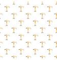orange hoisting crane pattern vector image vector image