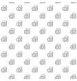 unique digital money and coins seamless pattern vector image vector image