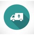 ice cream truck icon vector image