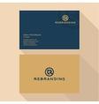 Qualitative elegant Business Card logo and vector image