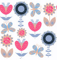 abstract floral fantasy vivid seamless pattern it vector image