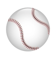 baseball ball icon graphic vector image vector image