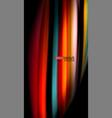 Fluid rainbow colors on black background