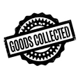 Goods Collected rubber stamp vector image vector image