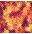 Mosaic orange abstract EPS 10 vector image vector image