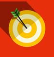paper target symbol vector image vector image
