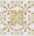seamless royal luxury golden baroque damask vector image