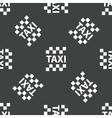 Taxi emblem pattern vector image vector image