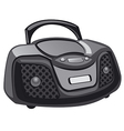 cd player icon vector image