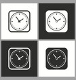 deadline time icon pictogram for graphic vector image vector image