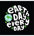 earth day quote and saying vector image