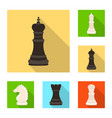 isolated object of checkmate and thin sign vector image