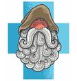 Monk Portrait vector image