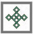 scandinavian viking design vector image vector image