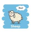 Sheep vector image