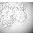 Architectural plan vector | Price: 1 Credit (USD $1)