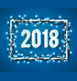happy 2018 new year vector image vector image