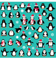 penguin clipart vector image