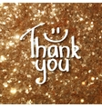 thank you czrd vector image vector image