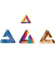 beautiful logo design vector image