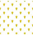 corn pattern seamless vector image vector image