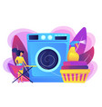 dry cleaning and laundering concept vector image